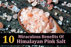 10 Beneficios milagrosos de sal rosa del Himalaya