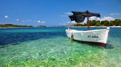 Vehicles Boat  Tropical Ocean Vehicle Water Wallpaper