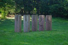 Le sentier de sculptures contemporaines In Situ - Lutzelhouse - #Alsace
