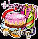Happy Birthday: tarta, regalo y decoración de cumpleaños