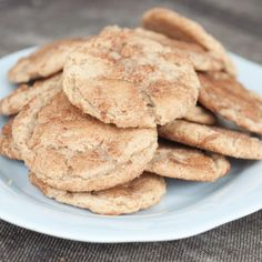 Browned Butter Snickerdoodles!!