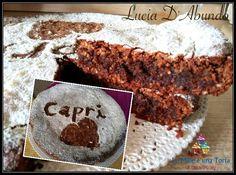 TORTA CAPRESE RIVISITATA PROFUMATA AL CAFFÈ