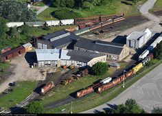 RailPictures.Net Photo: ELS 1224 Escanaba and Lake Superior EMD SD9 at Wells…