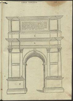 SERLIO, Sebastiano, 1475-1554 - [Tercero y quarto libro de Architectura …], [1573].