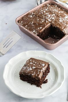 This Small Chocolate Cake recipe is absolutely amazing. It's a very soft, moist cake that can be served with chocolate frosting or without frosting. You can decorate this small cake by simply dusting… Cake Recipes From Scratch, Best Cake Recipes, Dessert Recipes, Chocolate Snacks, Salted Chocolate, Chocolate Frosting, Cake Chocolate, Chocolate Cake Recipe Without Baking Soda, White Chocolate