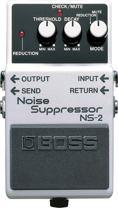 The NS-2 Noise Suppressor eliminates unwanted noise and hum without altering an instrument's natural tone. It's the perfect pedal to quiet down any pedalboard or effects setup. - Compact noise suppres