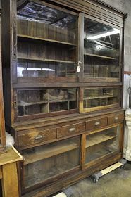 Im in love....in my dreams!  this would look spectacular as either a buffet in kitchen or lounge/living. Oklahoma Barn Market: Mercantile Display Back Bar