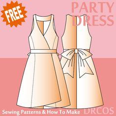 Partydress sewing patterns & how to make