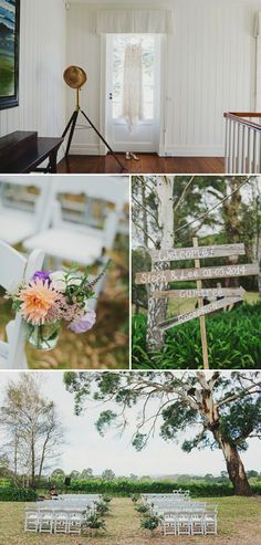 A Rustic And Beautiful Destination Wedding At Red Hill Estate in Australia With A Collette Dinnigan Dress With An Outdoor Ceremony And A Handpicked Rose Bouquet Photographed By Jonathan Ong. 0001