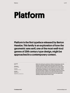 designed by Berton Hasebe for Commercial Type Typography Layout, Typography Poster, Lettering, Graphisches Design, Layout Design, Graph Design, Editorial Layout, Editorial Design, Typography Inspiration