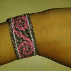 Alpha friendship bracelet pattern added by symbol native american swirls. Friendship Bracelet Patterns, Friendship Bracelets, Maori Art, Alpha Patterns, Swirls, Jewelry, Loom Band Bracelets, Fabrics, Jewlery