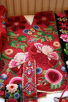 Swedish embroidery from Dalecarlia