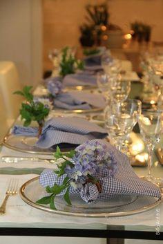Anfitriã - Como receber em casa - decoração - mesas: