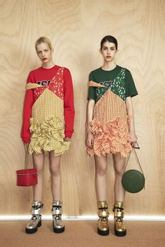 MSGM Resort 2017 if you buy this you're an idiot, and the so called designer is laughing all the way to the bank at you !!!
