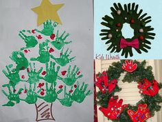 Random Handprints - A NYC Mom Blog... live from New Jersey: Winter Holiday Handprint Crafts - Christmas, Hanukkah and the Winter Solstice, too