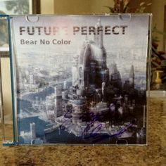 """First print of Bear No Color's first album """"Future Perfect"""" ~yes"""