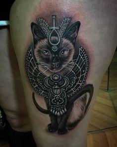 Rad Egyptian cat... Ryan Ashley Malarkey