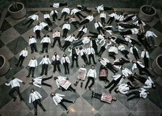 Harvard Medical School students stage a die-in. Photo from Tamara Rodriguez Reichberg, Harvard Medical School student African American Slavery, Hands Up Dont Shoot, Eric Garner, Economic Justice, Protest Art, Harvard Medical School, Racial Equality, Michael Brown, Medical Field