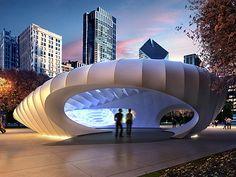 Burnham Pavilion, Chicago