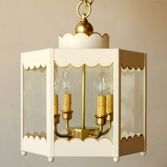THE SCALLOPED LANTERN  Coleen & Co.
