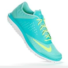 Women's Nike Fitsoles worn once Gray and Orange Nike Fit-sole Light Run Nike Shoes Sneakers