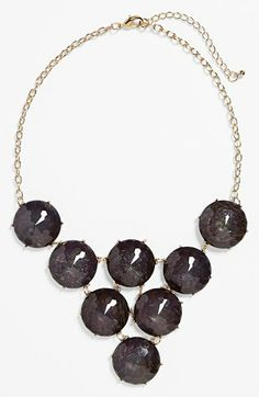 Kool Konnections 'Cosmic' Stone Bib Necklace (Juniors) (Online Only) available at #Nordstrom