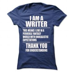 A Writer Fantasy World Unique T Shirts, Hoodies. Check Price ==► https://www.sunfrog.com/LifeStyle/A-Writer-Fantasy-World-Unique-Shirt-Ladies.html?41382