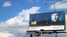 ArtMoi places a second Andrew Valko billboard in against the Winnipeg skyline Make Art, Billboard, Lovers Art, Skyline, Places, Artist, Poster Wall, Artists, Lugares