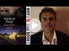 Michael Berg, winnaar van de Gouden Strop 2013, de prijs voor het beste Nederlandstalige spannende boek, over zijn boek Nacht in Parijs.