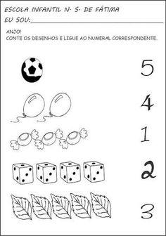 Risultati immagini per atividades jardim 2 para imprimir