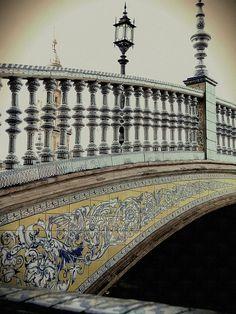 Imágenes de la Plaza España de Sevilla