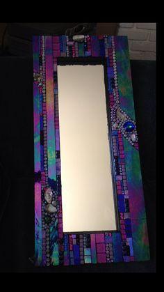 Mosaic Mirror by Moonjewelsandmosaics on Etsy, $475.00