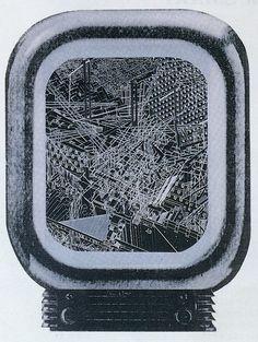 Toshikazu Ishida and Diana Juranovic. Architecture Drawings, Diana, Japan, Stone, Variables, Geometry, 1980s, Magazines, Metallic