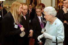 Queen Elizabeth II Photo - Royal Reception For Team GB Olympic Medalists