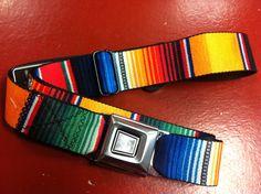 Starburst Serepe Seat Belt Belt