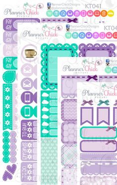 April Monthly Kit for Erin Condren vertical planners. All the functional…