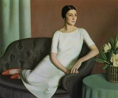 Meredith Frampton portrait