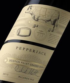 Pepperjack Graded Collection Wine via @The Dieline