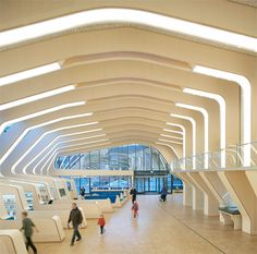 Public Library in Norway, designed by Helen & Hard architects