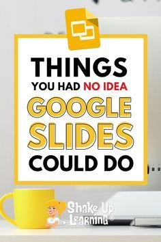 I talk about the wonders of Google Slides CONSTANTLY and frequently refer to it as the Swiss Army Knife of G Suite. It can do all kinds of things! In this post, I will show you 25 Things You Didn't Know Google Slides Could Do. | shakeuplearning.com