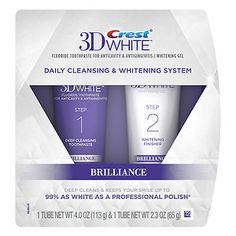 online shopping for Crest White Brilliance Daily Cleansing Toothpaste Whitening Gel System from top store. See new offer for Crest White Brilliance Daily Cleansing Toothpaste Whitening Gel System Best Whitening Toothpaste, Crest Whitening, Teeth Whitening Remedies, Natural Teeth Whitening, Best Toothpaste White Teeth, Whitening Kit, Celebrity Dentist, Crest 3d White, Thing 1