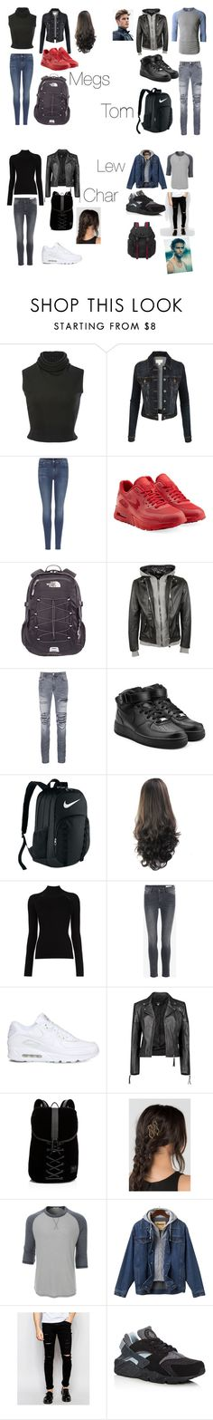 """""""Walking Dead inspired outfits X❤️❤️"""" by meganpieterse ❤ liked on Polyvore featuring Brandon Maxwell, LE3NO, 7 For All Mankind, NIKE, The North Face, Philipp Plein, AMIRI, Misha Nonoo, Boohoo and Puma"""