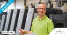 Ben jij een offsetdrukker die vooruitstrevend is, technisch goed is onderlegd en zelfstandig onderhoud kan uitvoeren? Kom werken bij de beste drukkerij van Nederland! #vacature #grafisch #drukker #offsetdrukker #werk