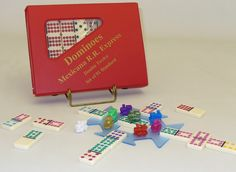 Double 12 Color Dot Dominoes- Mexican Train