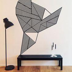 Brilliant wall decoration DIY (cheap and creative!)