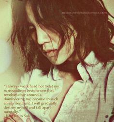 The wisdom of Jang Keun Suk.