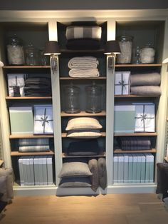Organised beauty. Shelves and accessories available in Browsers Limerick