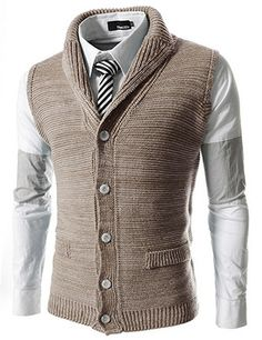 """The """"Shelby"""" Slim Knitted Vest Classy Men, Knit Vest, Sharp Dressed Man, Mens Fashion, Fashion Outfits, Gentleman Style, Mens Clothing Styles, Men Dress, Men Sweater"""