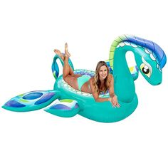 Pool Float Giant 8 Foot Inflatable Sea Monster Fun Kids Swim Party Toy for sale online