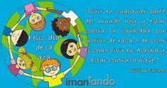 Hoy es 12 de octubre, hoy se celebra el #DíaDeLaRaza.